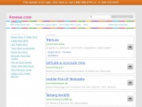 4reese.com Webseite Vorschau