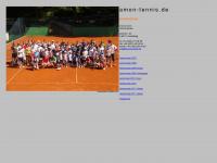 amon-tennis.de Webseite Vorschau
