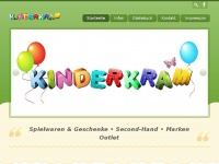 kinderkram-langenselbold.de Webseite Vorschau