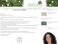 madleenbittner.de Webseite Vorschau