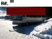 kvr-reisen.de Webseite Vorschau