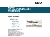 cdu-muenzenberg.de Webseite Vorschau