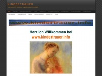 kindertrauer.info Webseite Vorschau