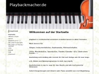 playbackmacher.de