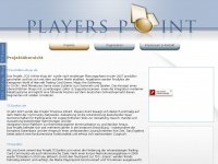 players-point.de Webseite Vorschau