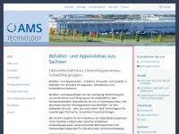 ams-systeme.de Webseite Vorschau