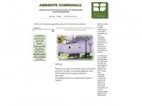 ambientecommunale.com Webseite Vorschau