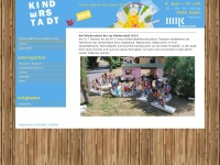 kinderstadt-halle.de Webseite Vorschau
