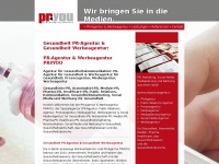 pr-agentur-gesundheitswesen.de