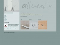 allcreativ.de Webseite Vorschau