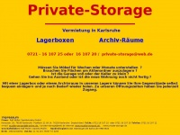 private-storage.de