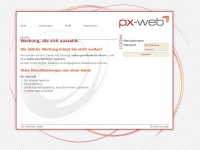 px-web.de Webseite Vorschau