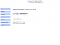 qconsult.de Webseite Vorschau