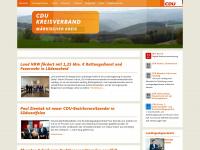 cdu-mk.de Webseite Vorschau