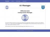 kv-plieningen.de Webseite Vorschau