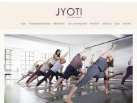 jyoti-yoga.de Webseite Vorschau