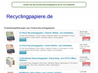 recyclingpapiere.de
