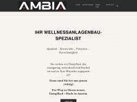 ambia.at Webseite Vorschau