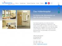 huettenhospital.de