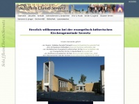 kirche-sereetz.de Webseite Vorschau