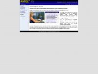 rxtec.at Webseite Vorschau