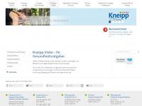 kneippvisite.de Webseite Vorschau