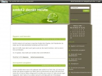 amk82denktheute.www.de Webseite Vorschau
