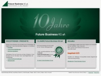 10jahrefuturebusiness.de Webseite Vorschau