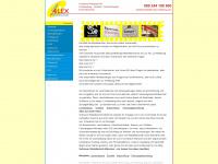 schilder-lichtreklame.de Webseite Vorschau