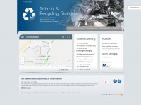 schrott-stuttgart.de Webseite Vorschau