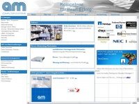 am-computer.com Webseite Vorschau