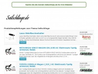 seilschlinge.de Webseite Vorschau