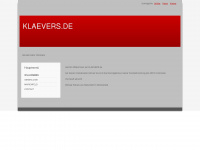 klaevers.de