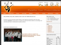 4rackets.de Webseite Vorschau