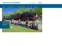 ammersee-dampfbahn.de Webseite Vorschau
