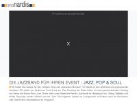 jazzband-trio-nardis.de Webseite Vorschau
