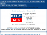 Abk-bausoftware.bss.at