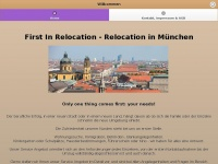 1st-in-relocation.com Webseite Vorschau