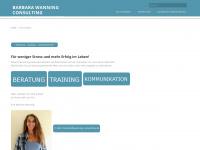 wanning-consulting.de Webseite Vorschau