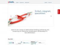 qtools.ch Webseite Vorschau