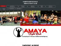 amaya-fightclub.de Webseite Vorschau