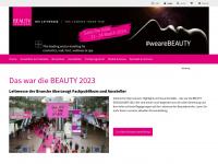 beauty.de Webseite Vorschau