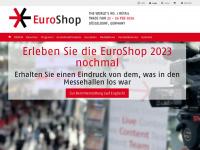 euroshop.de Webseite Vorschau