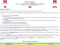 plattmaster.de Webseite Vorschau