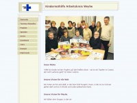 kindernothilfe-weyhe.de Webseite Vorschau