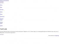 t3xt3.de Webseite Vorschau