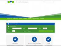 kvg-bus.de Webseite Vorschau