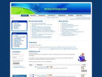 weblexikon.com Webseite Vorschau