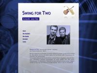 swingfortwo.de Webseite Vorschau