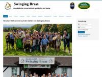 swinging-brass.de Webseite Vorschau